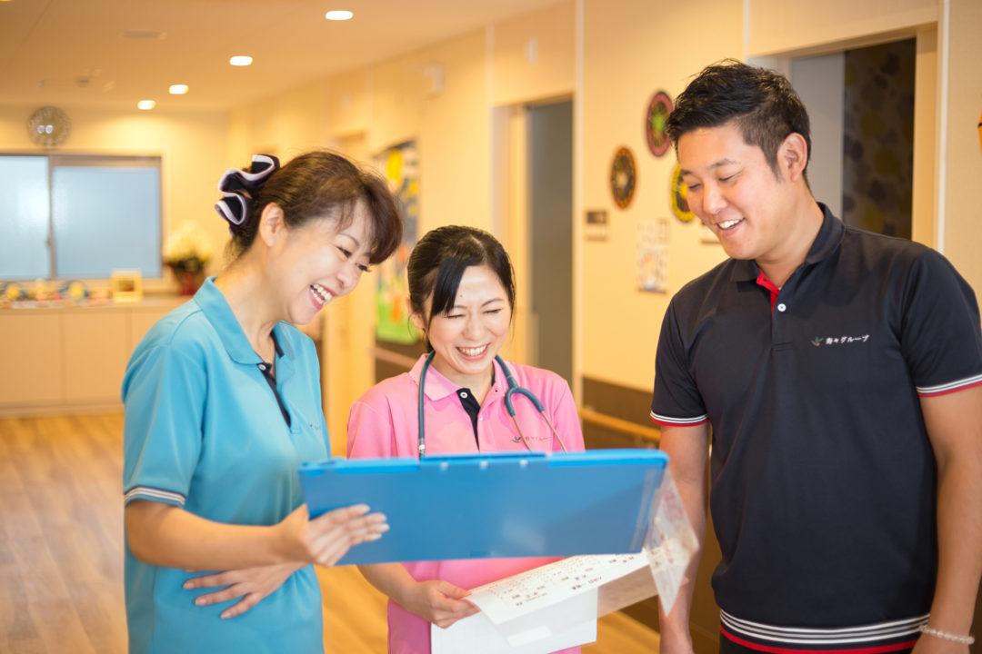 看護と介護のスムーズな連携
